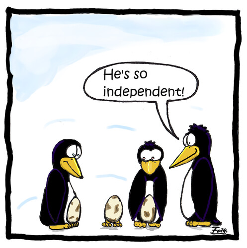 Independence vs independent learning