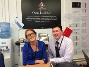 Principal, Shane Iertson & Assistant VP, Katie Sharp