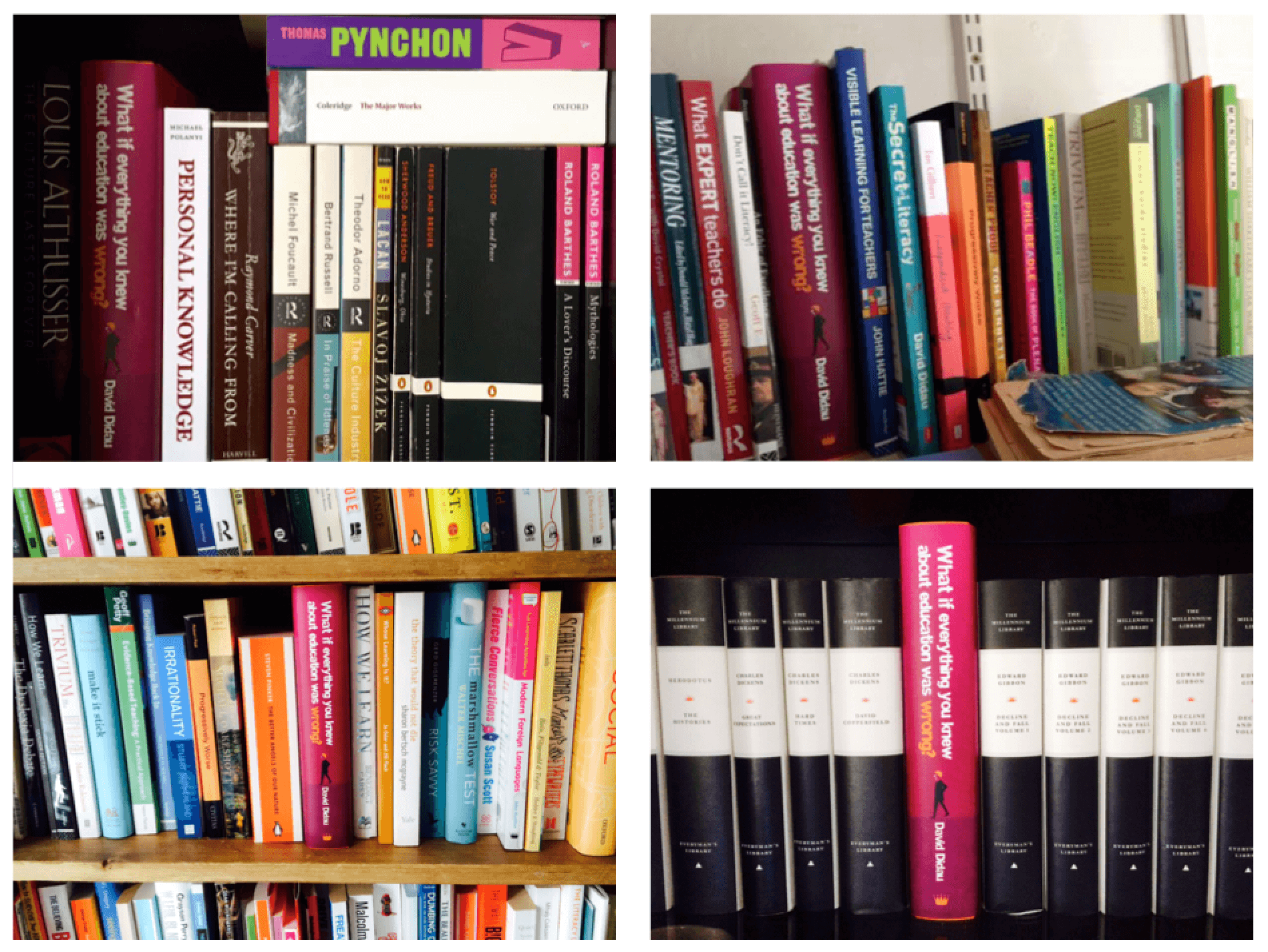 WrongBook shelfies